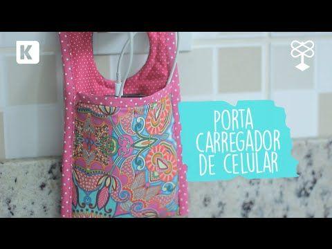 PAP Porta Carregador de Celular #TecidosCirculo #CirculoNaTV - YouTube