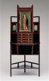 Edward William Godwin: Corner Cabinet (1985.1) — The Detroit Institute of Arts