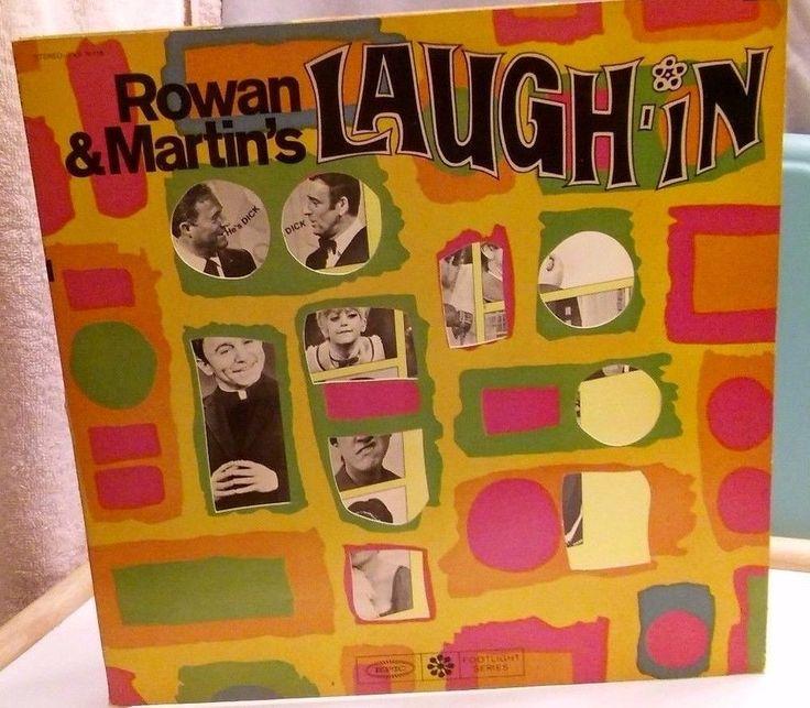 ROWAN & MARTIN'S LAUGH-IN 331/2 LP  GOLDIE HAWN DAN ROWAN DICK MARTIN 1968 #ComedyNoveltyMusicSatireStandUpSketchTV60SCOMEDYPROGRAM