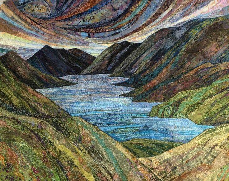 3409 best quilt landscape images on Pinterest | Quilt block ... : landscape quilt patterns - Adamdwight.com