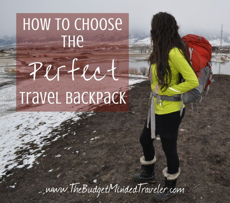 Finding the best backpacking backpack can be daunting. In this video I explain three essential elements to choosing the perfect travel backpack for YOU.