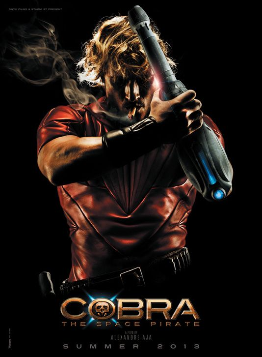 Cobra, The Space Pirate, 2013, Directed by Alexandra Aja & adapted from Buichi Terasawa Comic book, inspired itself by Philip K.Dick novel
