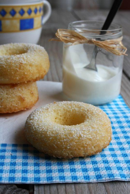 La ricetta della felicità: Ciambelline a colazione light version