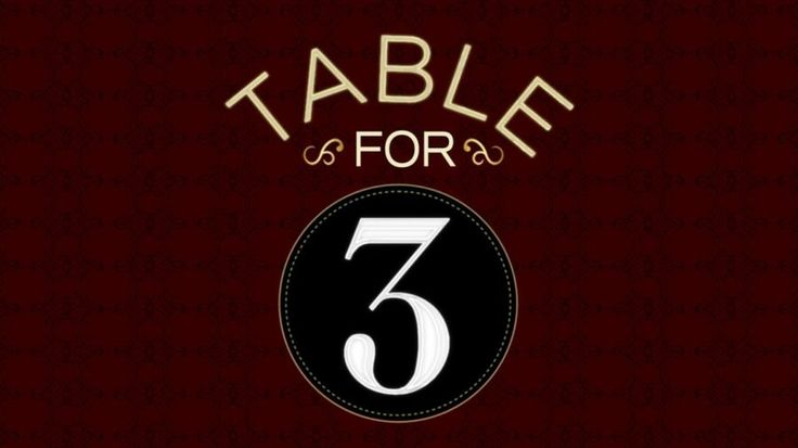 Preview for tonight's episode of Table for 3, Top 10 creative cheaters (video)