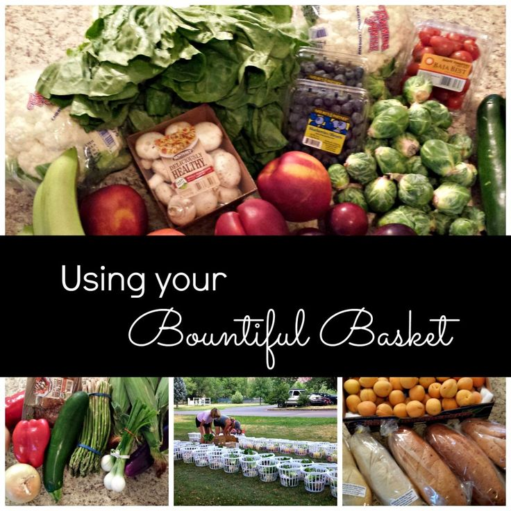 Using Your Bountiful Basket - 8/23/14 Distribution