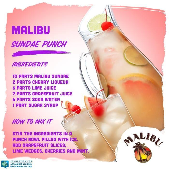 Malibu Sundae Punch