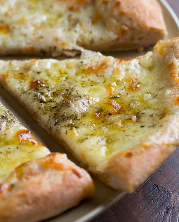 White Pizza  13 Flavorful Homemade Pizza Recipes   https://homemaderecipes.com/homemade-pizza-recipes/