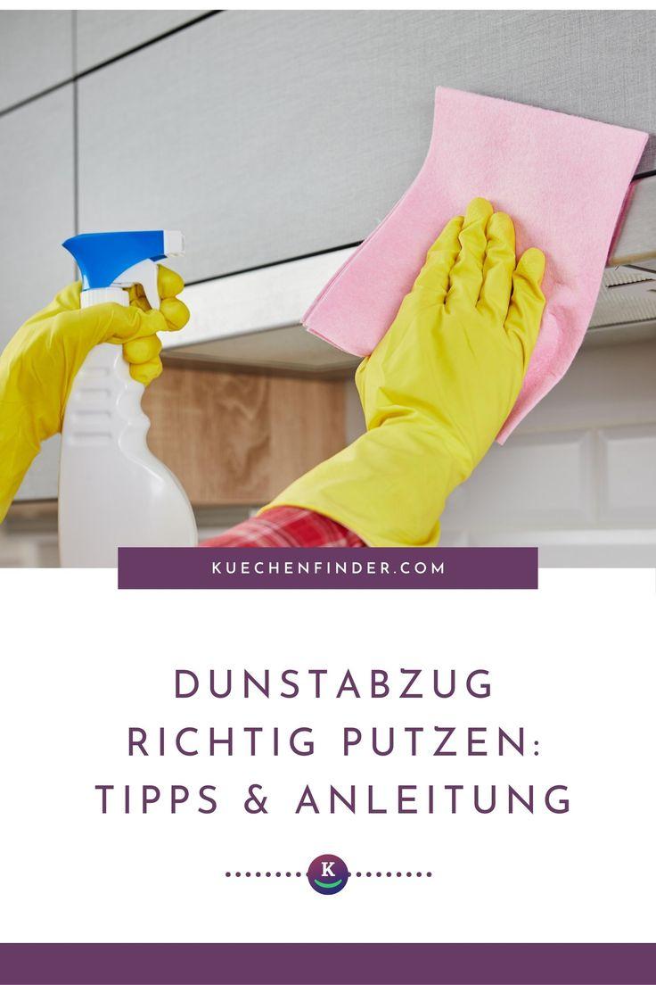 Dunstabzugshaube reinigen: So putzt du den Dunstabzug ...