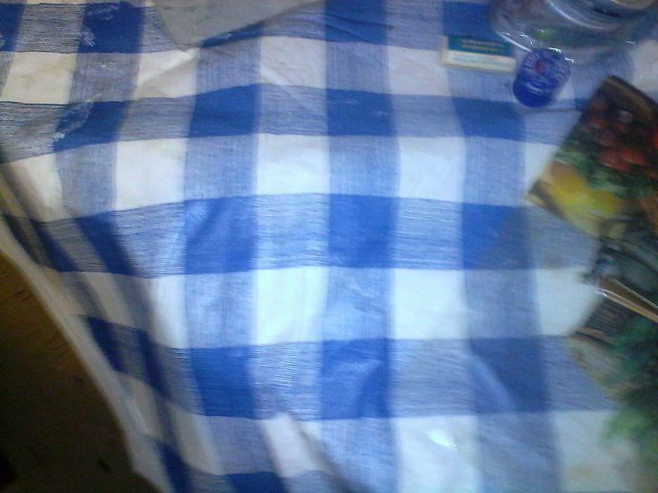 BLUE TABLE SPREAD