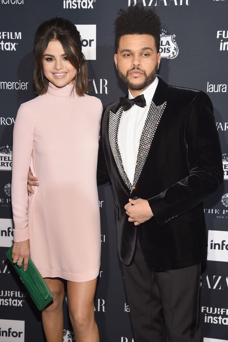 Selena Gomez and The Weeknd Just Made Their Second Red Carpet Appearance Together - HarpersBAZAAR.com