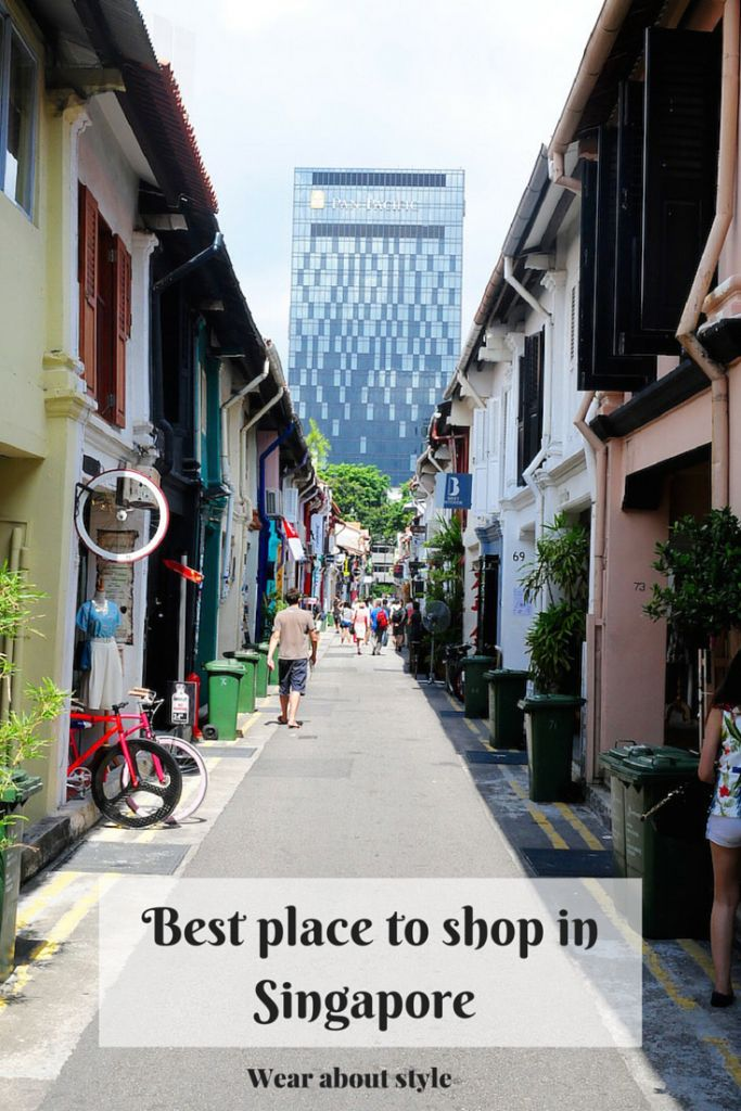 Shopping in Singapore : Haji Lane