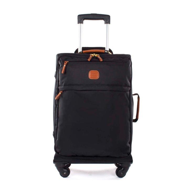 Luggage Bric's X Travel BXL38117 Lightweight Carry On Trolley Black