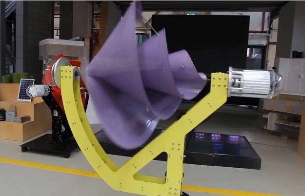 Создан бесшумный ветрогенератор с КПД 80% - Liam F1 : EcoTown