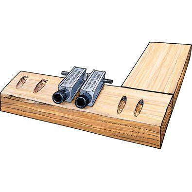 $25 Double Pocket Hole Guide - cheaper Kregg tool alternative