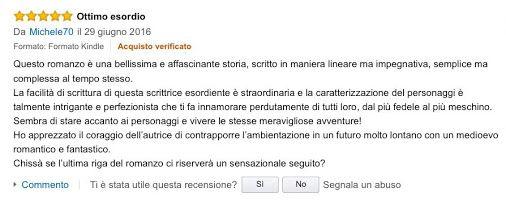 #recensione, #LaGraziaDellAcqua grazie! Per il seguito mi serve un po' di…
