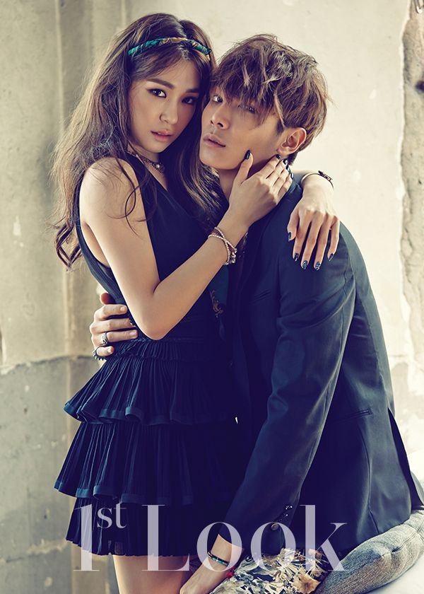 Lee Cheol Woo and SNSD's Tiffany by Zoo Young Gyun for 1st Look June 2015
