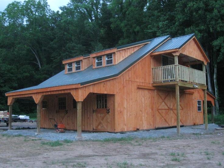This Cedar Stained Board Amp Batten Barn Is In Northeastern