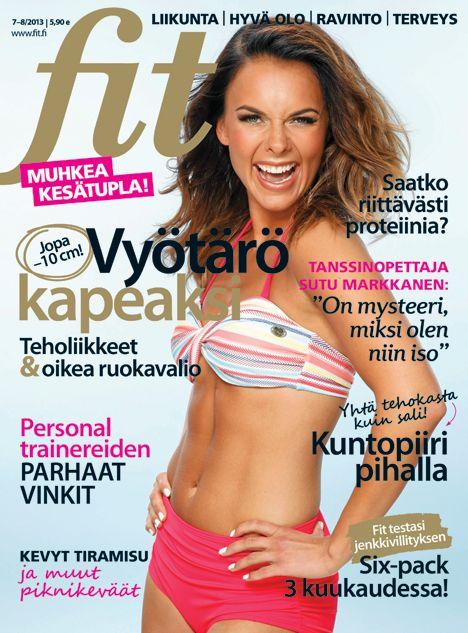 Fit 7-8/2013 #fitlehti #kansi