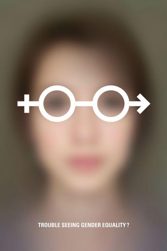Hard to see par l'Atelier Graphicable (France) : L'égalité hommes-femmes en images - Journal des Femmes