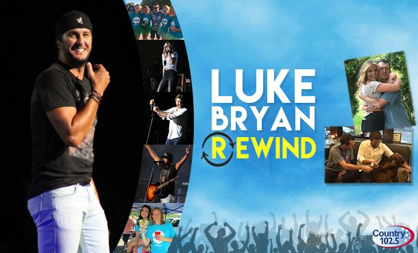 Concert Rewind: Luke Bryan @ The Xfinity Center - Country 102.5