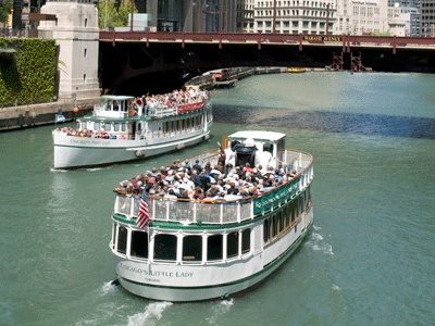 Architecture Boat Tour   Mon - Wed: 10, 11, 11.30, 12, 1, 1.30, 2, 3, 3.30; Thu-Fri same + 3.30 & 5; Sat: same + 9, 9.30, and 5   $35-38
