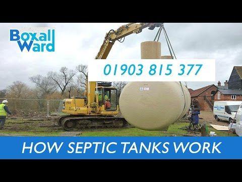 How Septic Tanks Work | Boxall Ward Ltd | Septic Tanks Sussex
