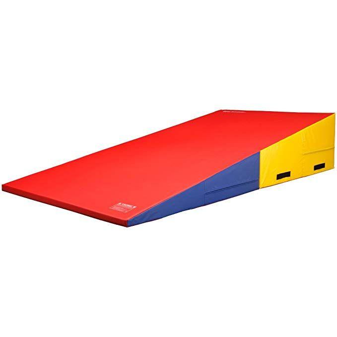 We Sell Mats In15med Mc Rainbow Gymnastics Folding Incline Cheese Wedge Skill Shape Tumbling Mat Medium 60 Tumble Mats Gymnastics Equipment For Home Gymnastics