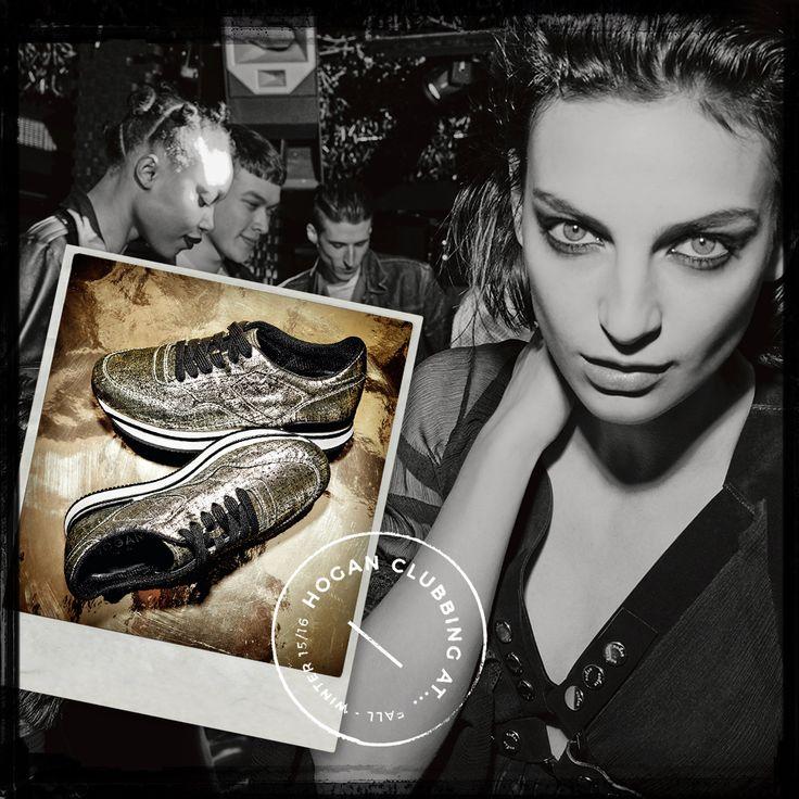 #HOGAN #H222 sneakers for a seductive woman. #HOGANClub #HOGANClubbingAt