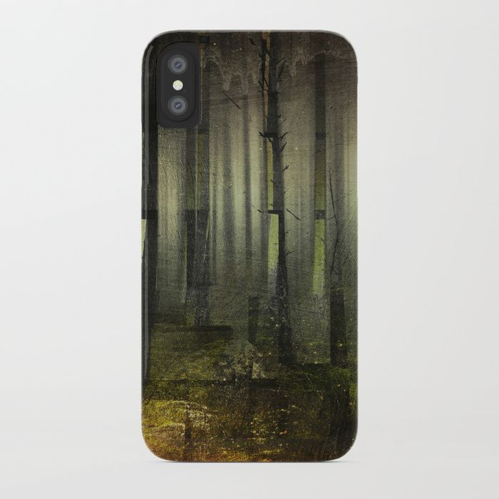 Why am I here iPhone Case by HappyMelvin. #nature #darkforest #forests #original #iphone #phonecases