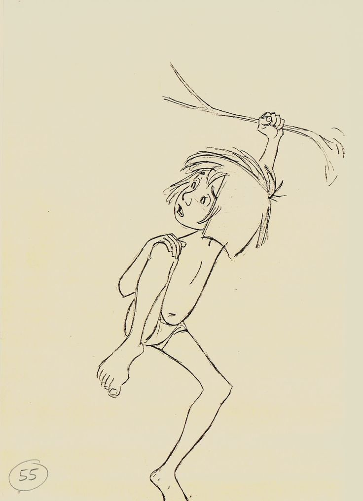 "Milt Kahl, from ""The Jungle Book"""