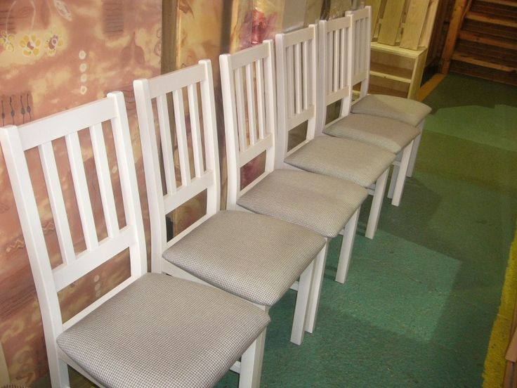 židle bílá loft