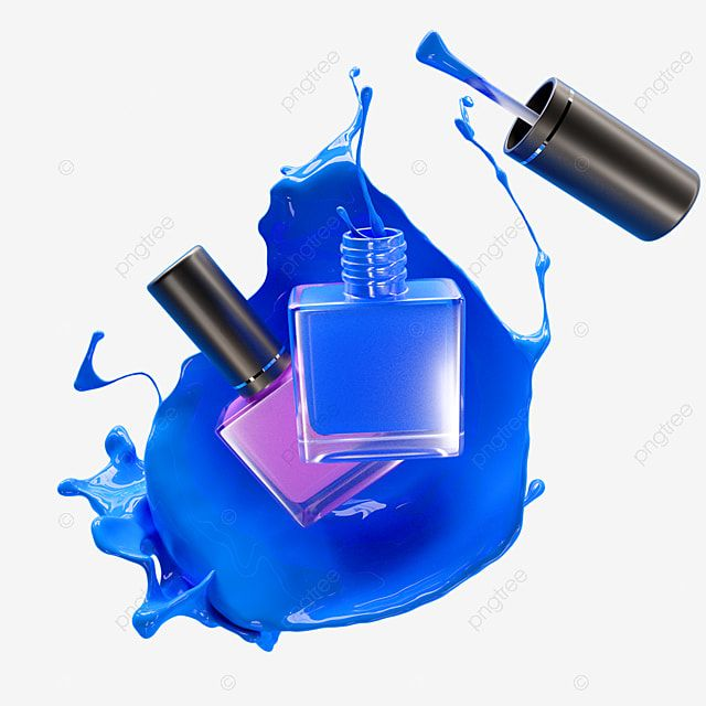 Blue Nail Polish Liquid Splash 3d Element Nail Polish Clipart Blue Nail Polish Png Transparent Clipart Image And Psd File For Free Download Blue Nail Polish Blue Nails Nail Polish