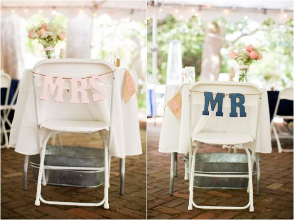 Pink and Navy Military Wedding Ideas