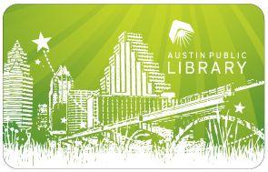 library card Austin Texas