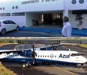 Pregopontocom Tudo: Aeroporto de Teixeira de Freitas inaugura nesta quarta-feira...  Bahia  Teixeira de Freitas inaugura  aeroporto nesta quarta-feira,a medida deve estimular o turismo e o mercado local, além de investir na chance de aumentar os investimentos industriais.