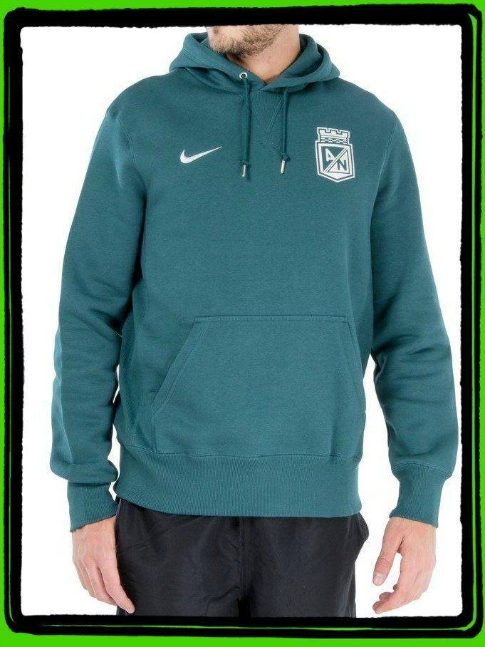 Buso Nike Capota Verde Hombre Atlético Nacional 2015 Producto Oficial Talla L  Precio $ 160.000