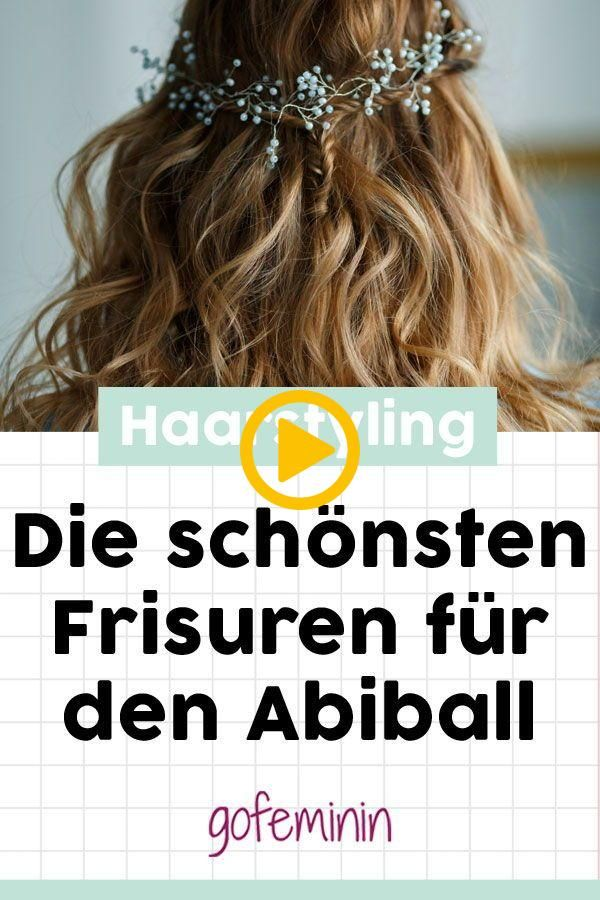 DAS sind die schönsten Frisuren für den Abiball! #Abiball #Trendfrisuren #Abib...