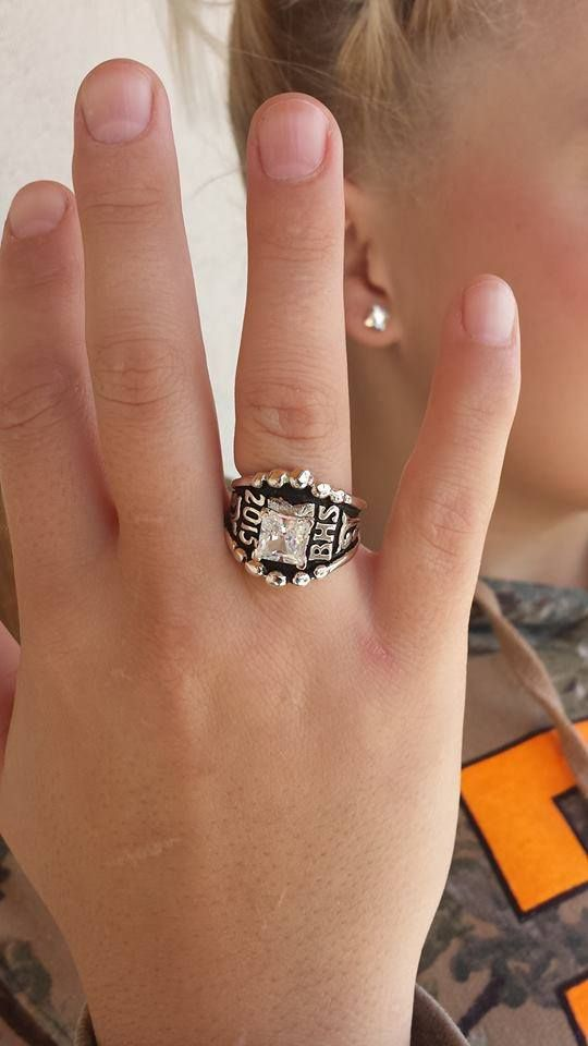 """My daughter got her class ring! Love it!"" - Kristi M."