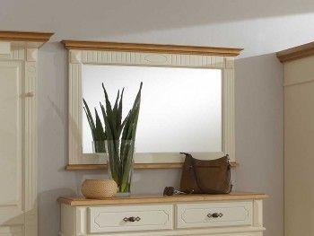 Zrcadlo ze smrkového dřeva Amber 2