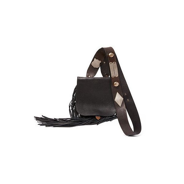 Ralph Lauren Shield Leather Strap (€800) ❤ liked on Polyvore featuring bags, handbags, shoulder bags, ralph lauren, distressed leather handbags, ralph lauren purses, shoulder strap handbags and strap purse