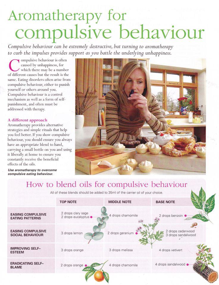 Aromatherapy for compulsive behaviour