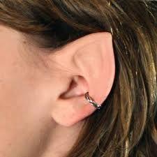 DIY elf ears!!! (or fairy ears) -- They look more like Hobbit ears than elf ears to me.