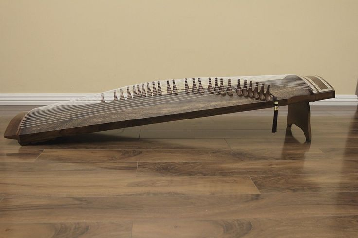 25 String Concert Kayagum Gayageum Korean Zither Koto Instrument | eBay