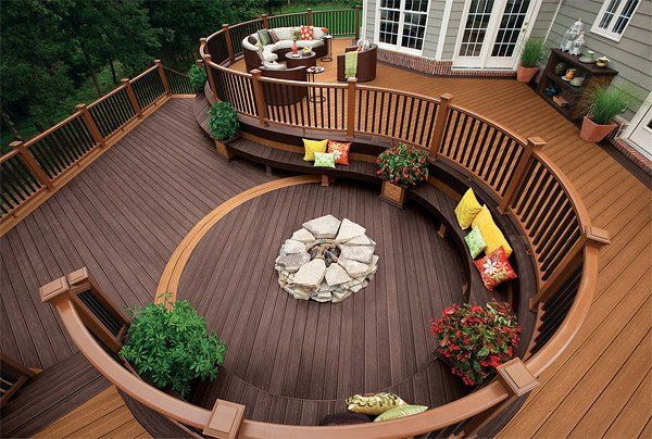20 Timber Decking Designs That Can Append Beauty Of Your Homes Home Design Lover Deck Designs Backyard Patio Design Decks Backyard