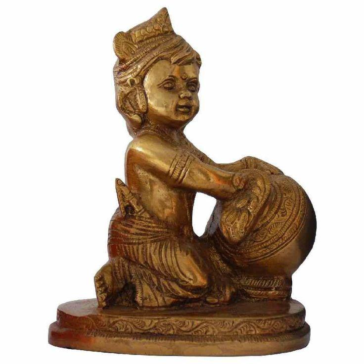 Makhan Krishna Idol Big