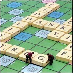 Gigantic Scrabble?