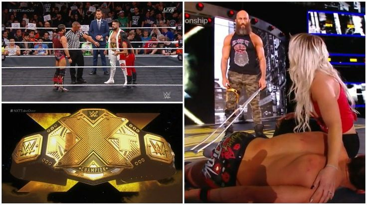 NXT Takeover results: NXT Championship match + Tommaso Ciampa is back