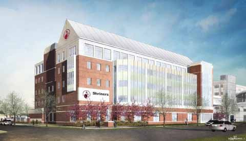 Shriner's Hospital for Children is currently being constructed on the University of Kentucky's campus, across the street from Children's Hospital. Is the new hospital construction due to more kids being sick or because Shriner's wants their own hospital for children? Will Shriner's and Children's help each other by letting each other use equipment? How will the University of Kentucky use this building?
