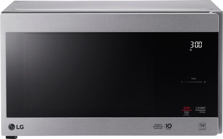 LG - NeoChef 0.9 Cu. Ft. Compact Microwave - Stainless steel (Silver)