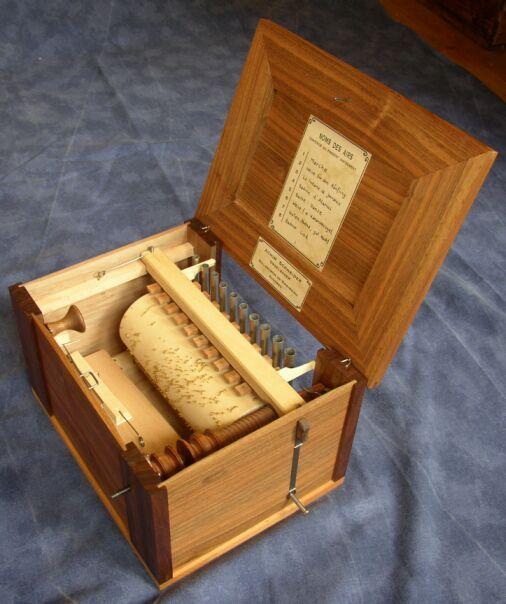 Serinette für Orgelstiftung